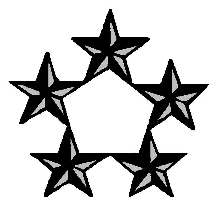 Collegiate School Ranking: 4 Star General Rank Insignia