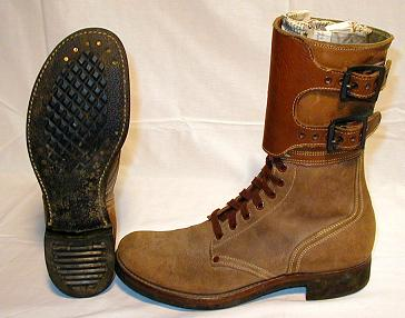 M-1943 two-buckle WWII combat boot