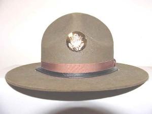 87c56143695 U.S. Army M1911 campaign hat
