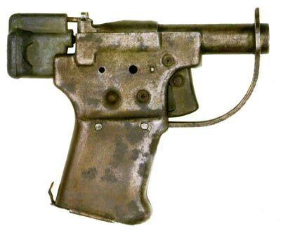 clandestine FP-45 single-shot Liberator pistol from WWII-era