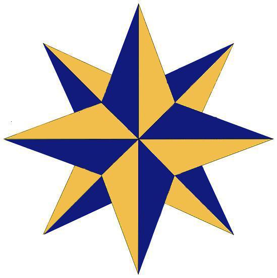 compass rose insignia of Leader Prep Course