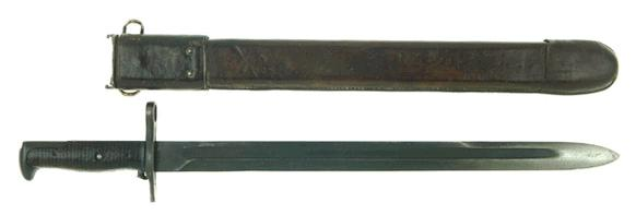 M-1905 bayonet with scabbard