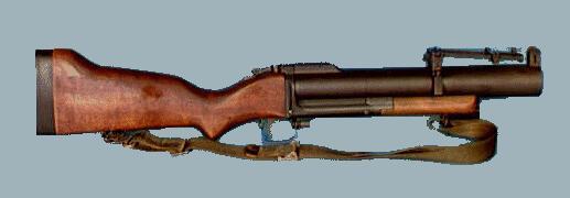 M-79 single-shot grenade launcher