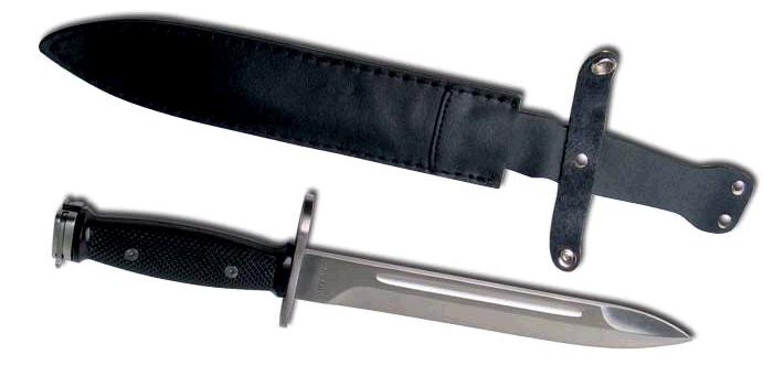 M-8 bayonet with scabbard
