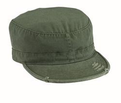 16e8a50a9ca77 flat-topped field cap