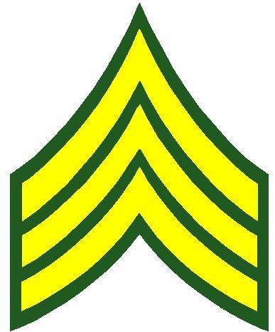 buck sergeant stripes