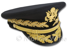 U.S. Army general officer's service cap