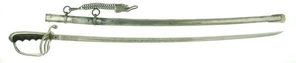 pre-WWII Army officer's sword and scabbard